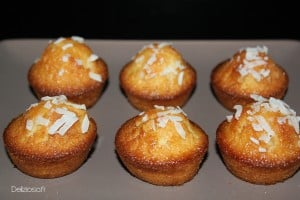 gâteau noix de coco