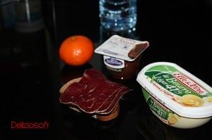Petit déjeuner equilibré