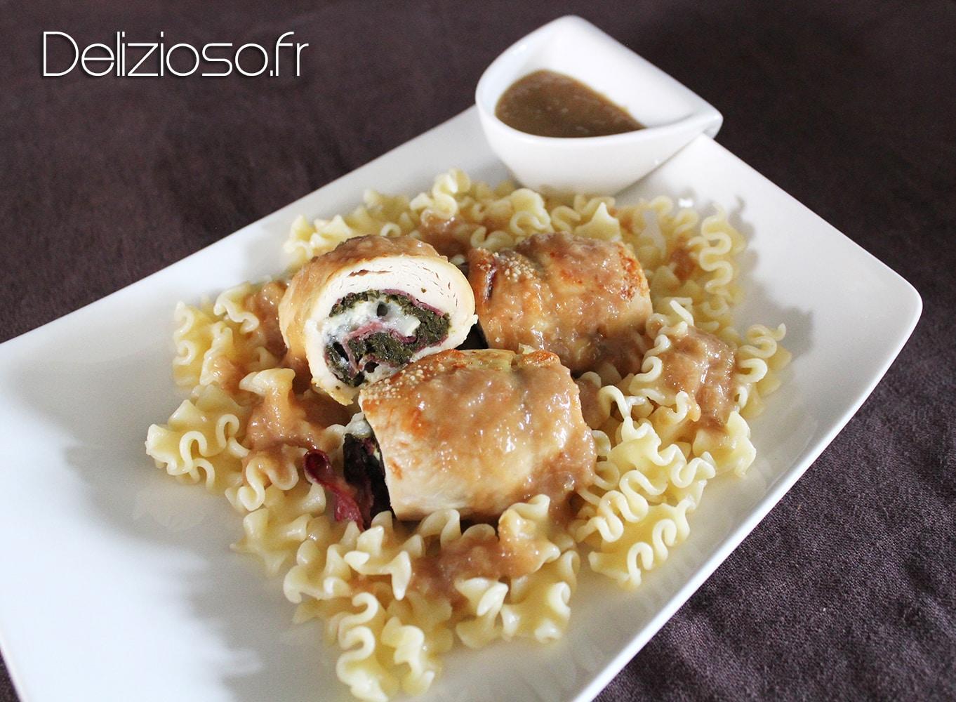 Saltimbocca de poulet