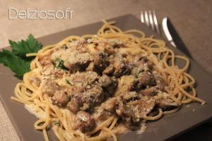 Spaghettis Alfredo