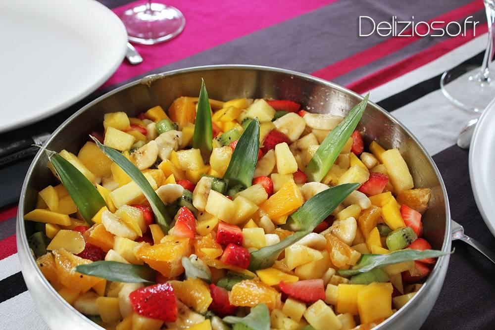 Salade de fruits maison au sirop d lizioso - Salade de fruits maison ...