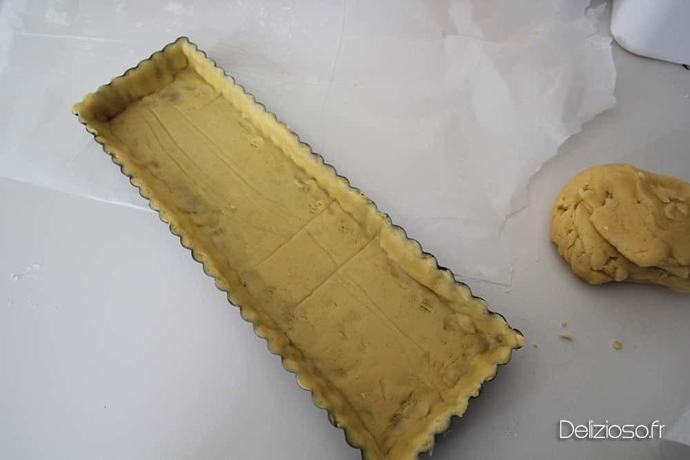 Pâte à tarte sucrée