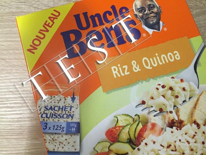 Riz et Quinoa Uncle Ben's - Test