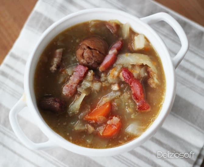 Soupe Ardéchoise