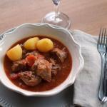 Mijoté de veau au pineau des Charentes