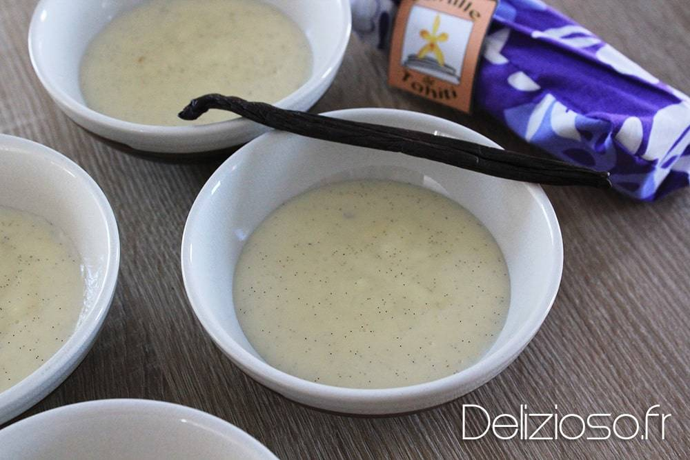 crème vanille légère