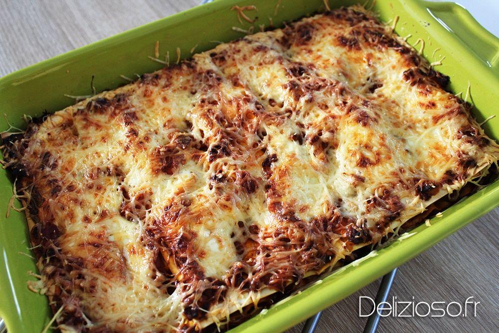 Lasagnes bolognaises express