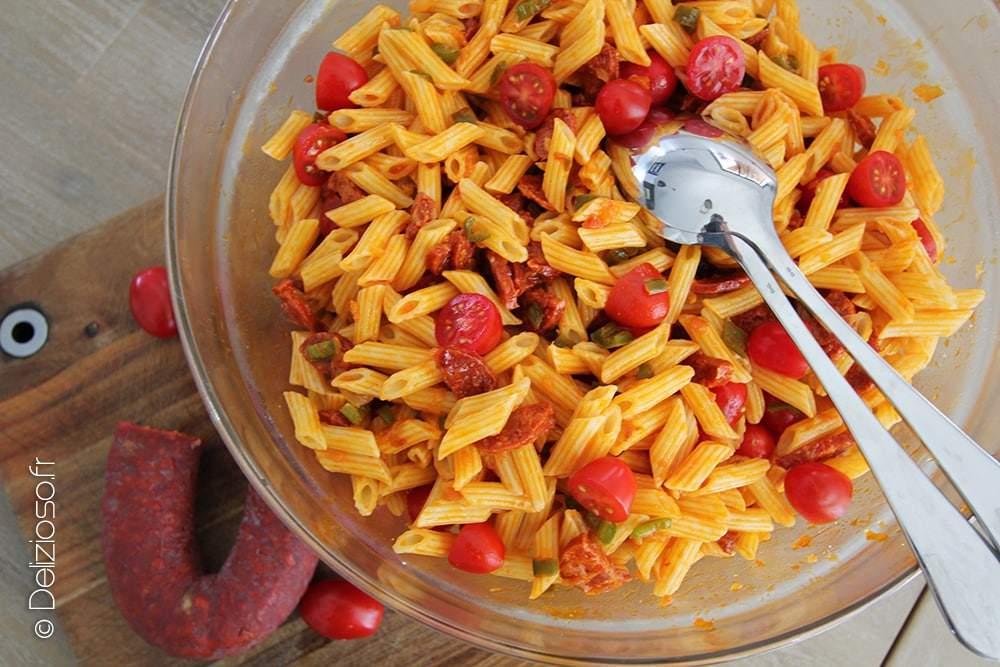 Salade-de-pates-au-chorizo