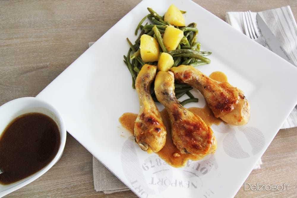 Pilons de poulet au beurre d'ail