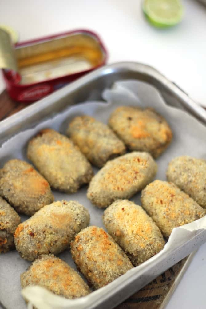 Croquettes de sardines au piment