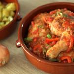 Poulet Basquaise traditionnel