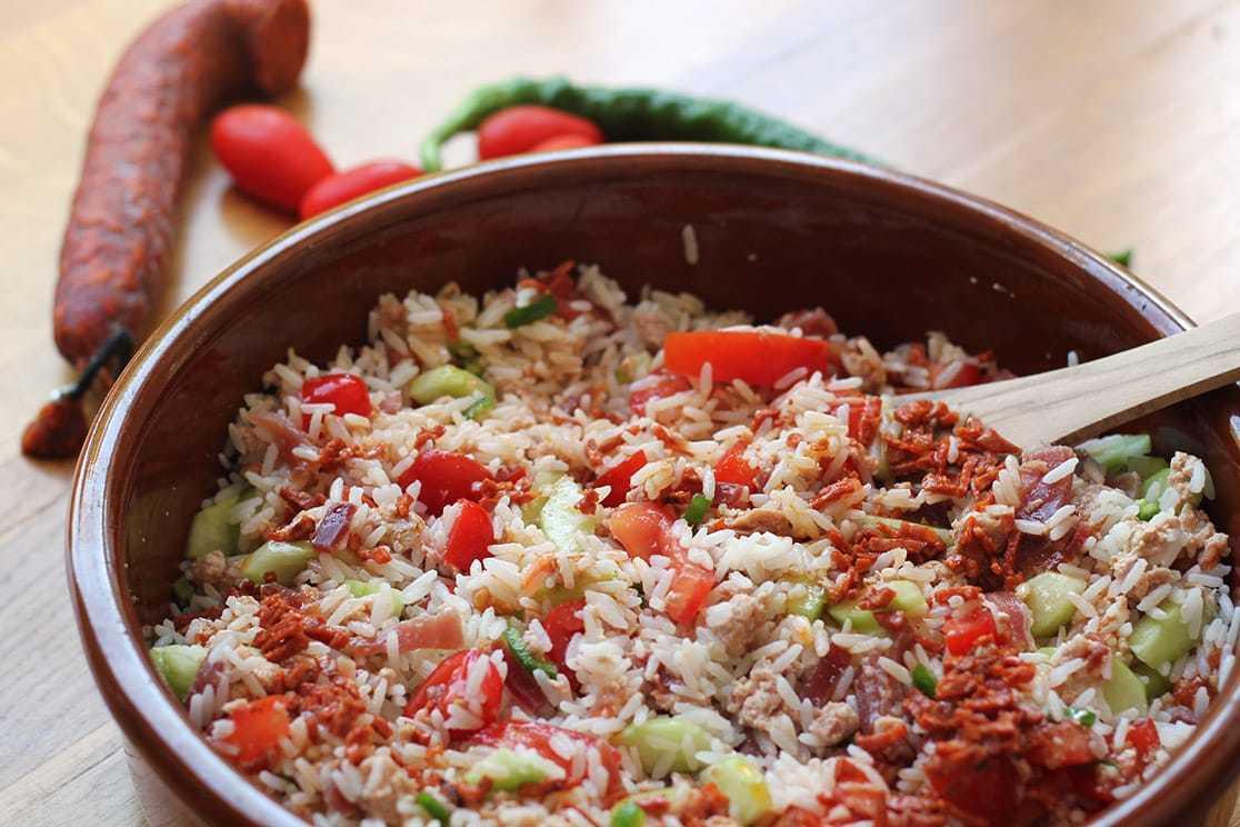 Salade de riz originale