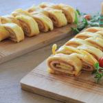 Omelette roulée