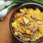 Salade de pommes de terre aux maquereaux